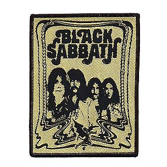 Black Sabbath Patch The End Band Logo new Official