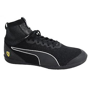 Puma SF Ferrari Changer Ignite evoKNIT Lace Up Black Men Trainers 305919 02 B34C