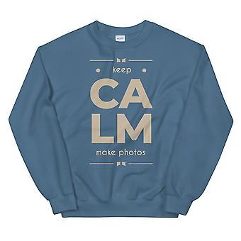 Keep Calm Make Photos - Sweatshirt, Hommes