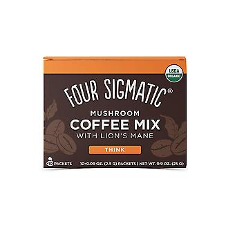Four sigma foods mushroom coffee with lion's mane and chaga, 25 g