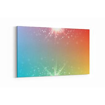 Schilderij - Abstract star — 90x60cm