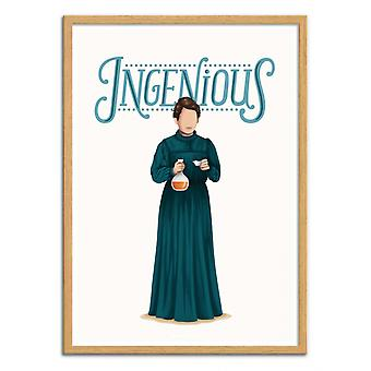 Art-Poster - Marie Curie - Nour Tohme