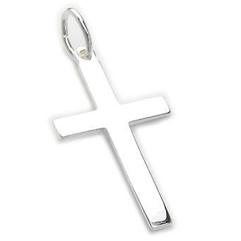 Cross Sterling Zilveren Charm Hanger .925 X 1 Kruisen Heilige Hangers - 6021