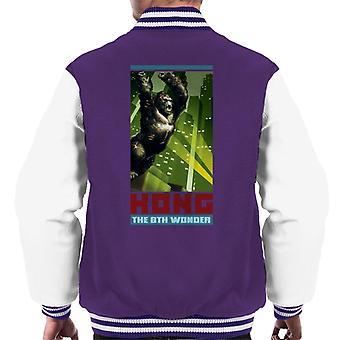 King Kong Den 8: e Wonder City Rage Men' s Varsity Jacket