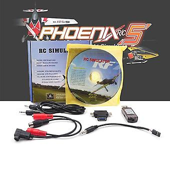 Rc Simulator Flight Wireless Usb Realflight Freerider 8 In 1 For Flysky I6x