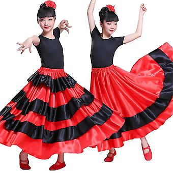 Flamenco Spanish Dress Chorus Stage Dresses