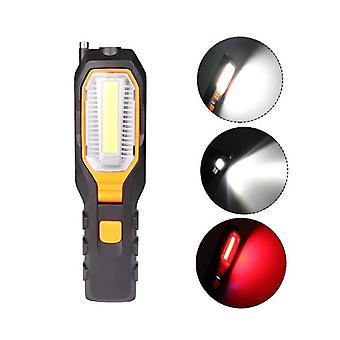 XANES 6302A 30W Flashlight 90 Rotate 3xAAA Battery 4 Modes LED Camping Light Waterproof Emergency La