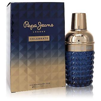 Pepe Jeans Celebrate Eau De Parfum Spray By Pepe Jeans London 3.4 oz Eau De Parfum Spray