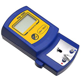 Fg-100 soldering iron tip thermometer tester with lead free senor tip soldering iron temperature tester parts for welding iron