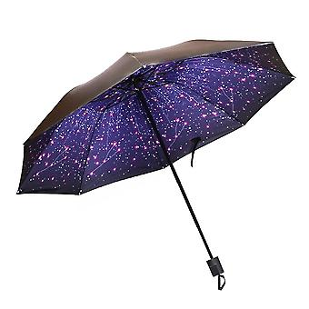 Creative Windproof, Anti-sun, Folding, Reverse Umbrella, Double Layer, Inverted