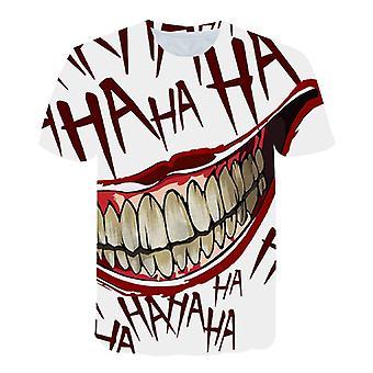Kauhuelokuva It Clown Tshirt Miehet/naiset, Hip Hop Streetwear Tee Cool Clothes