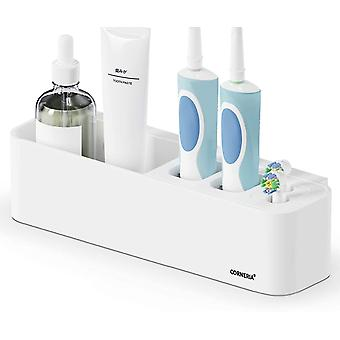 Easy-store Toothbrush Holder - Bathroom Multi-purpose Strong Suction Toothbrush Caddy - Detachable (