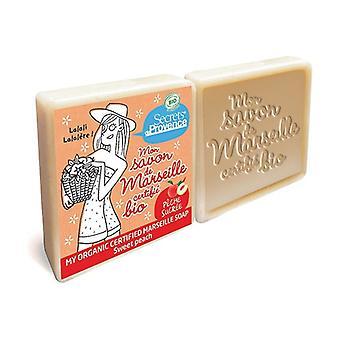 Organic Marseille Soap Sweet Peach 2 units