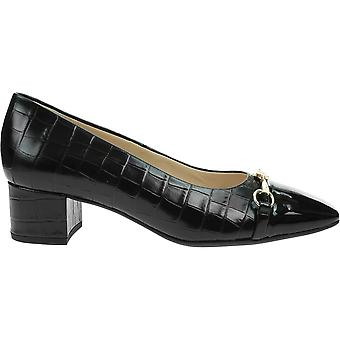 Högl 0104044CROCOLEDERBLACK 0104044CrocoLederBlack universal  women shoes