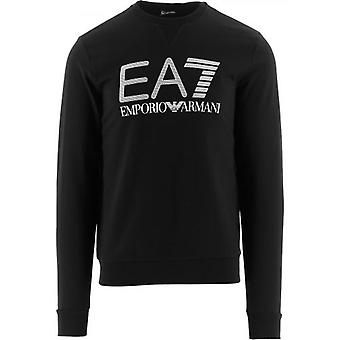 EA7 Black Logo Sweatshirt