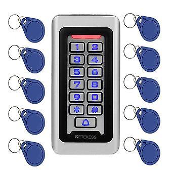Adgangskontrolkort til tastatur