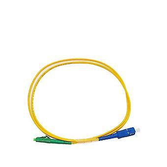 1.0 Meter Sc Upc To Lc Apc Fiber Patch Cord Cable Simplex Sm Single Mode 9/125