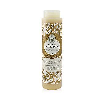 Jabón de oro de lujo 60 Aniversario con hoja de oro 23 k jabón líquido dorado (edición limitada) 257588 300ml/10.2oz