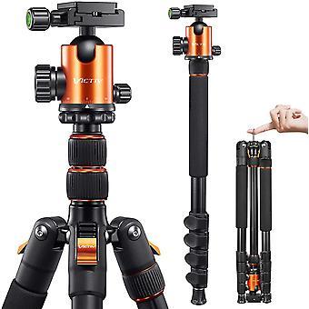 HanFei 205cm Professionell Stativ fr Kamera, Aluminiumlegierung Reisestativ Stativ fr DSLR, 360 Grad