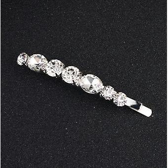 Feuille de fleur, peigne nuptial de cheveux pour le cristal, ornements de cheveux, bijoux, mariage,