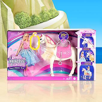 Barbie® Prinses Avontuur™ Prance & Shimmer™ Paard & Pop