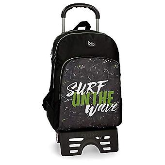 Roll Road 45126N1 California Reinforced Double Backpack with Trolley