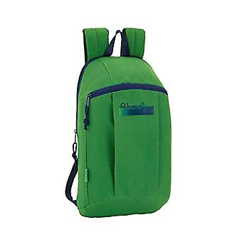 Safta - Benetton UCB Green Official Mini Backpack Use Diary 220 x 100 x 390 mm