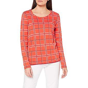 Cecil B315394 T-Shirt, Funky Orange, XS Women