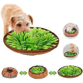 Hund schnüffelteppich intelligenzspielzeug,Schnüffelrasen Hundespielzeug Fördert Natürliche