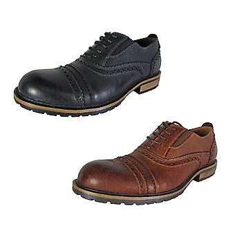 Steve Madden Mens Spanner Lace Up Brogue Derby Chaussures