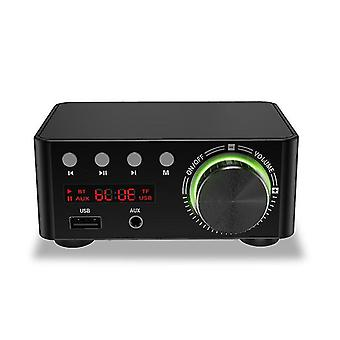 For TPA3116 Class D bluetooth 5.0 HIFI 2x50W Stereo Amplifier Support USB TF Card RCA AUX USB Stick WS37306