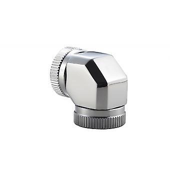 Phanteks 12mm hard tubeadapter 90 spejl Chrome