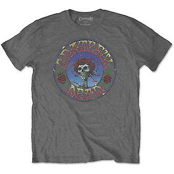 Grateful Dead - Bertha Circle Vintage Wash Men's Large T-Shirt - Charcoal Grey