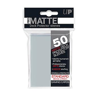 Ultra Pro Matte Clear Standard Deck Protectors - 50 Sleeves