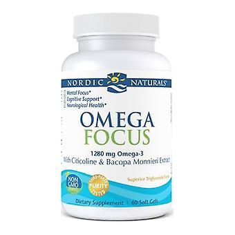 Nordic Naturals Omega Focus, 0, 60 Count