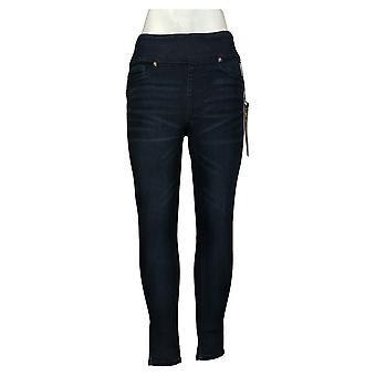 DG2 przez Diane Gilman spodnie damskie stretch talia chudy jegging niebieski 733923