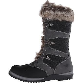 Blondo Women's Shoes Sasha Waterproof Snow Boot Fabric Closed Toe Mid-Calf Cold Weather Boots