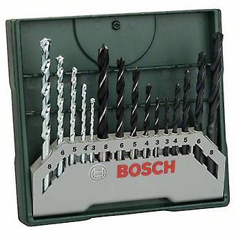 Bosch-lisä varusteet 2607019675 X-Line 15-osainen universaali poran terä sarja