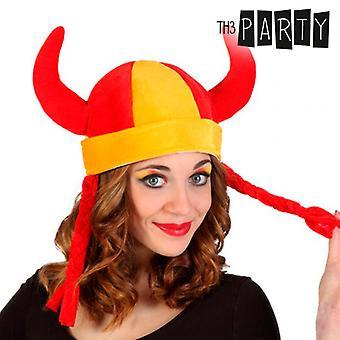 Th3 Party Spanish Flag Viking Hat