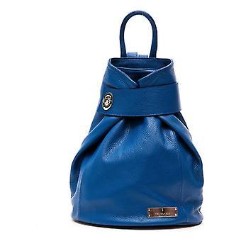 女性用ハンドバッグ トラサルディ レザー ブルー