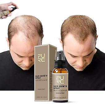 Uusi hiusten kasvusuihke, nopeasti kasvava hiustenlähtö hoitosuihke miehelle