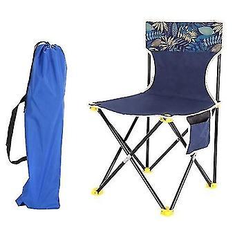 Chaises pliantes tabourets chaise pliable avec poche légère chaise de camping emballable pour l'extérieur intérieur
