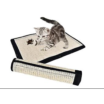Sisal Cat Scratch Pad Table Leg Sisal Pad Protect Furniture Cat Toy(40.5*30cm)