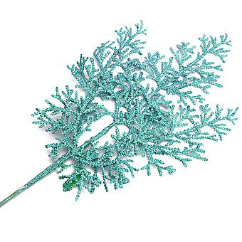 41cm spray de ciprés brillante | azul