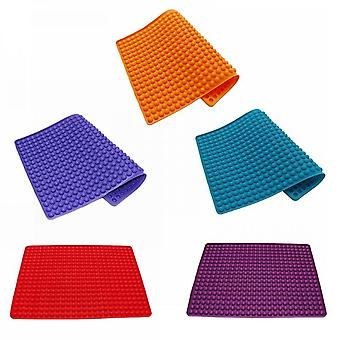 Semi-round Silicone Baking Mat, 1.2 Cm, With Buttons, For Dogs, Cookies And Baking Paper