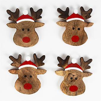 Sass & Belle Rudolph The Reindeer Coaster Set