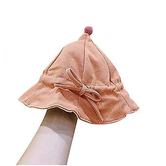 Infant Princess Cute Spring And Autumn Baby Thin Cotton Fisherman Hat