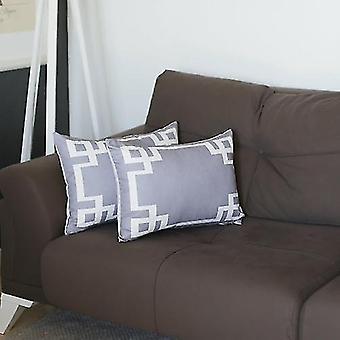 Pillowcases shams geometric square throw pillow cover sm149260