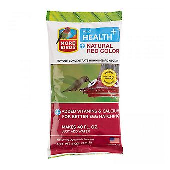 More Birds Health Plus Natural Red Hummingbird Nectar Powder Concentrate  - 8 oz