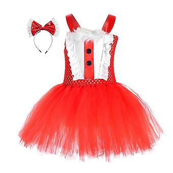 Yesfit Halloween Cosplay Maid Costume Party Santa Claus Costume Girl Dress Suit